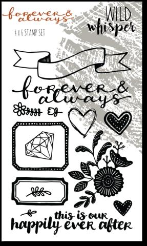 ^Wild Whisper - Forever and Always Stamp