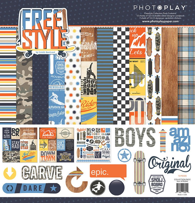^Photoplay Free Style - 12x12 Collection Kit