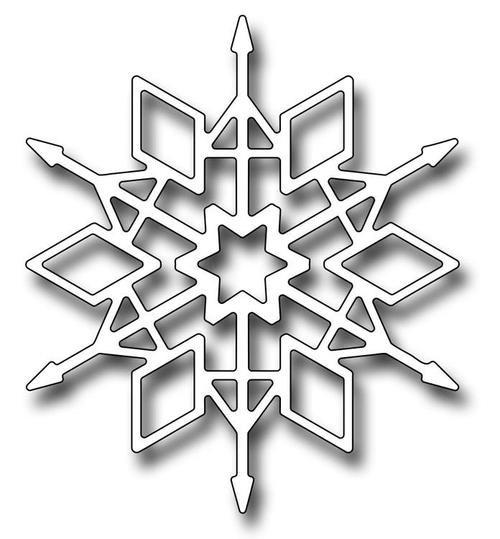 Frantic Stamper Dies - Crystal Snowflake
