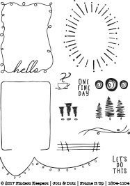 Finders Keepers - Clear Stamps - Jots & Dots Frame It Up