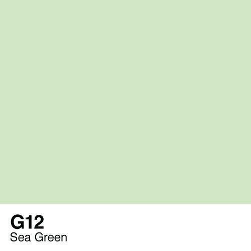 Copic -  Sketch Marker G12 Sea Green