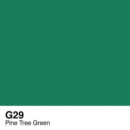Copic -  Sketch Marker G29 Pine Tree Green