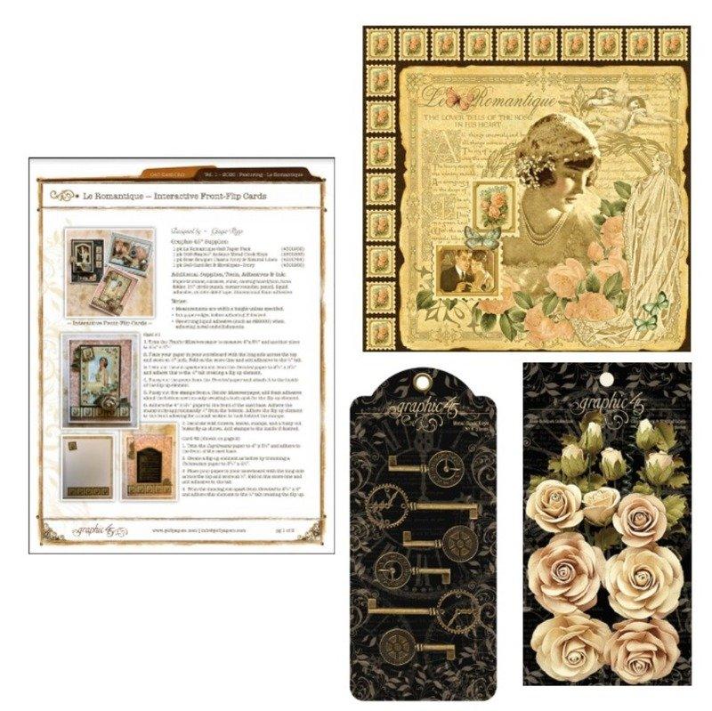 Club G45 Card Kit - Vol 01 January 2020 (Le Romantique)