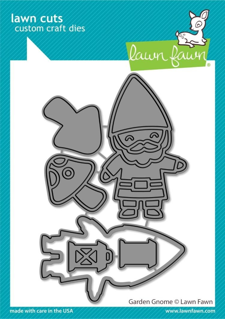 Lawn Fawn - Lawn Cuts - Garden Gnome (Crafter's Home EXCLUSIVE)