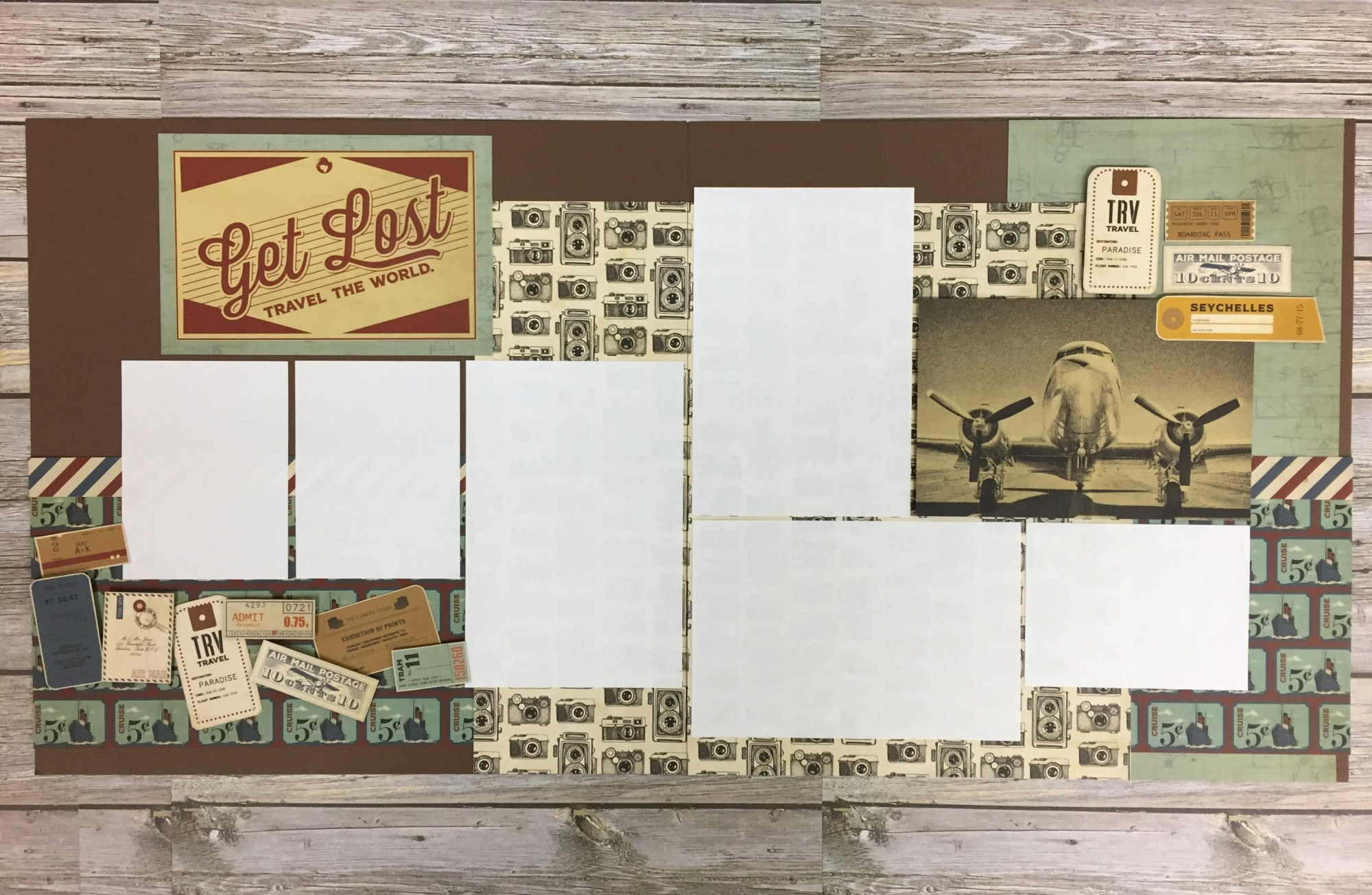 Get Lost Layout Kit