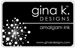 Gina K Amalgam Ink Pad - Jet Black