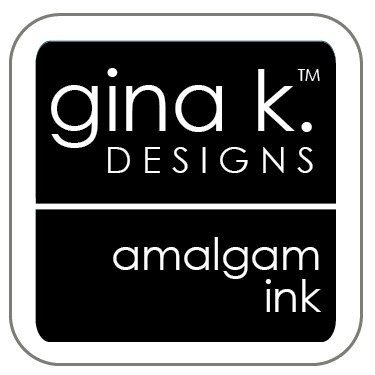 Gina K Amalgam Ink Cube - Jet Black