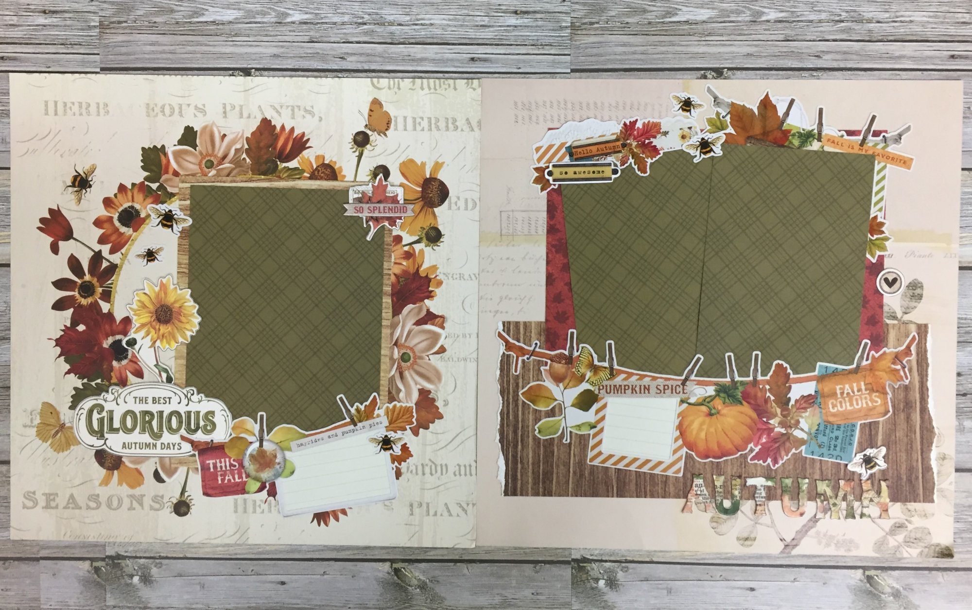 Glorious Days Layout Kit by Simple Stories