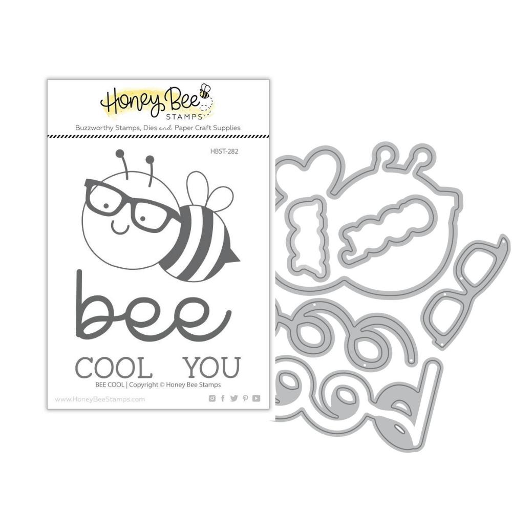 Honey Bee - BUNDLE - Bee Cool, Stamp Set and Coordinating Dies