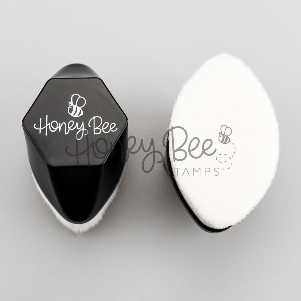 Honey Bee - Hexagon Palm Blender Brush