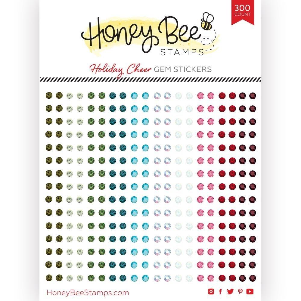 Honey Bee - Gem Stickers - Holiday Cheer