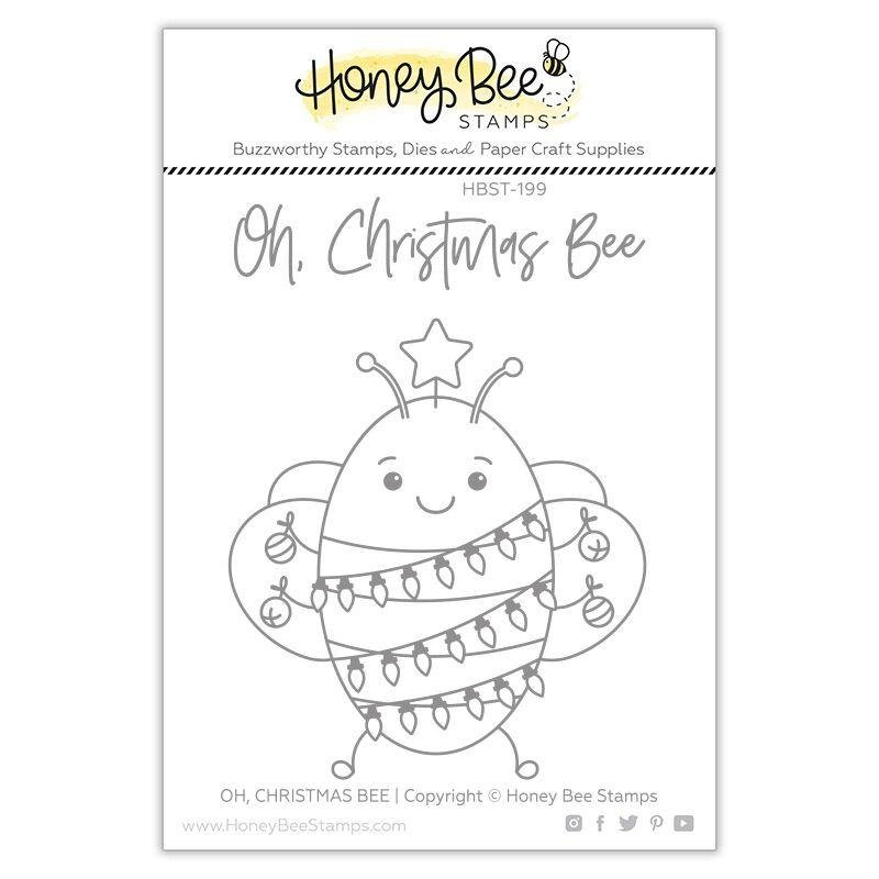 Honey Bee - Clear Stamps - Oh Christmas Bee