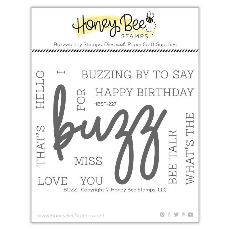 Honey Bee - Clear Stamps - Buzz