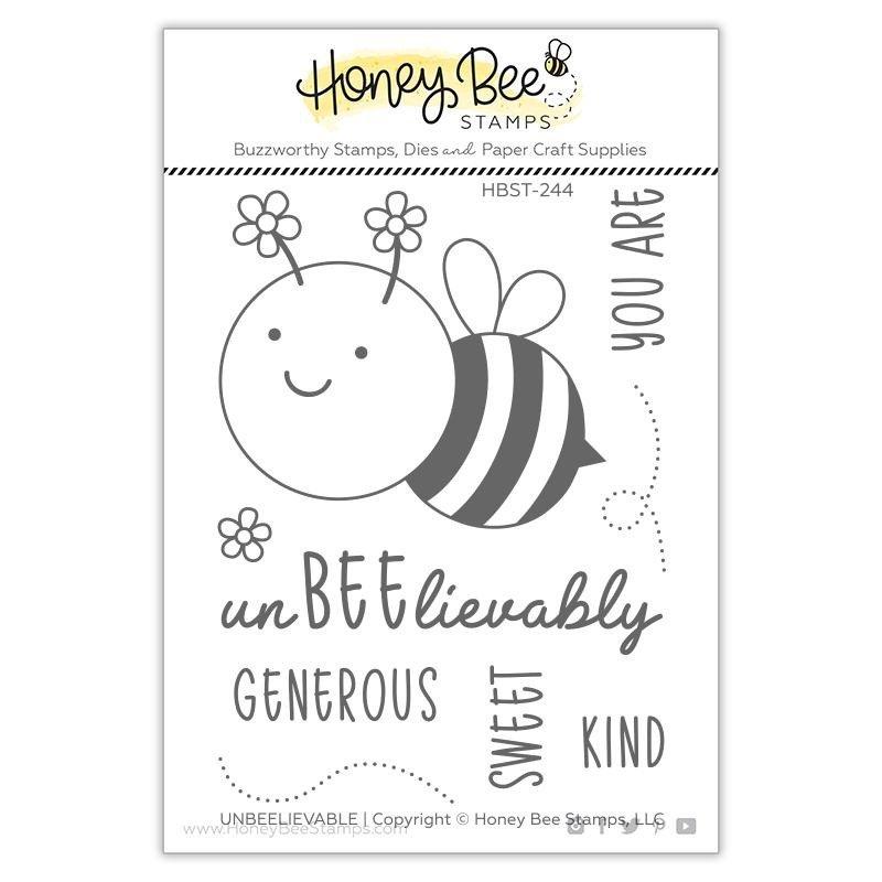 Honey Bee - Clear Stamps - UnBEElievable