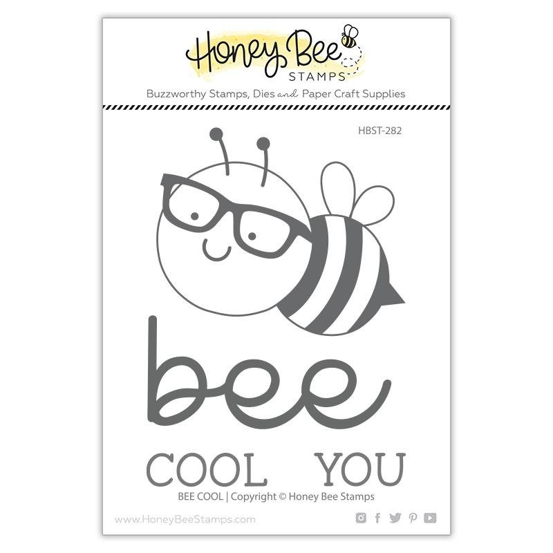Honey Bee - Clear Stamps - Bee Cool