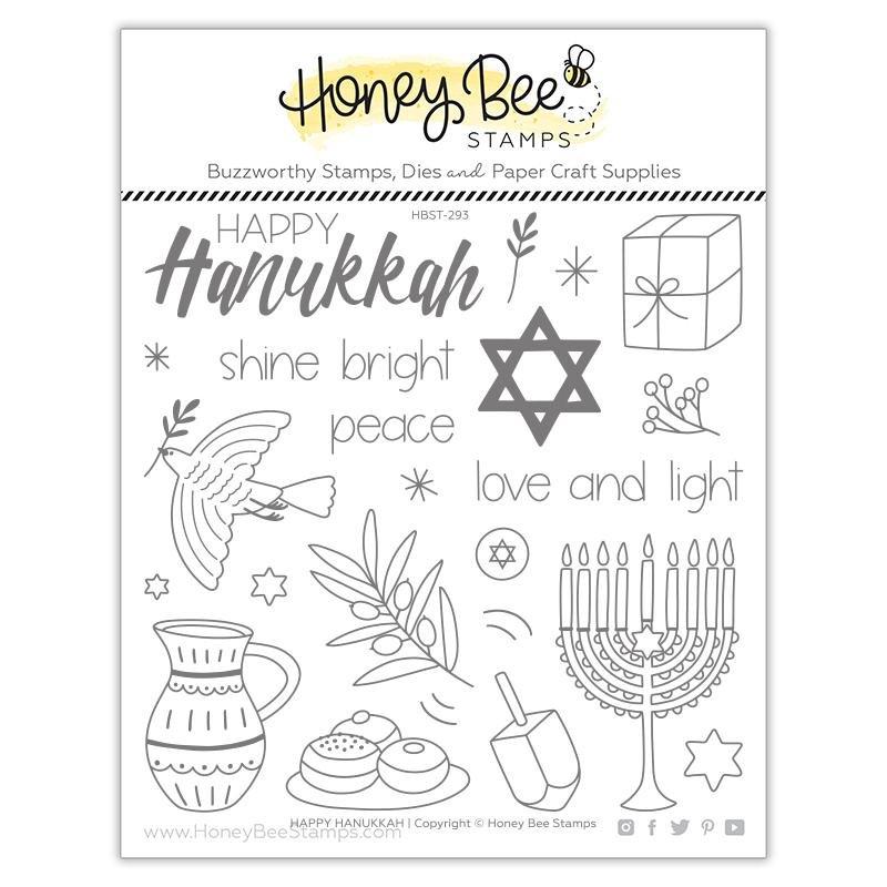 Honey Bee - Clear Stamps - Hanukkah