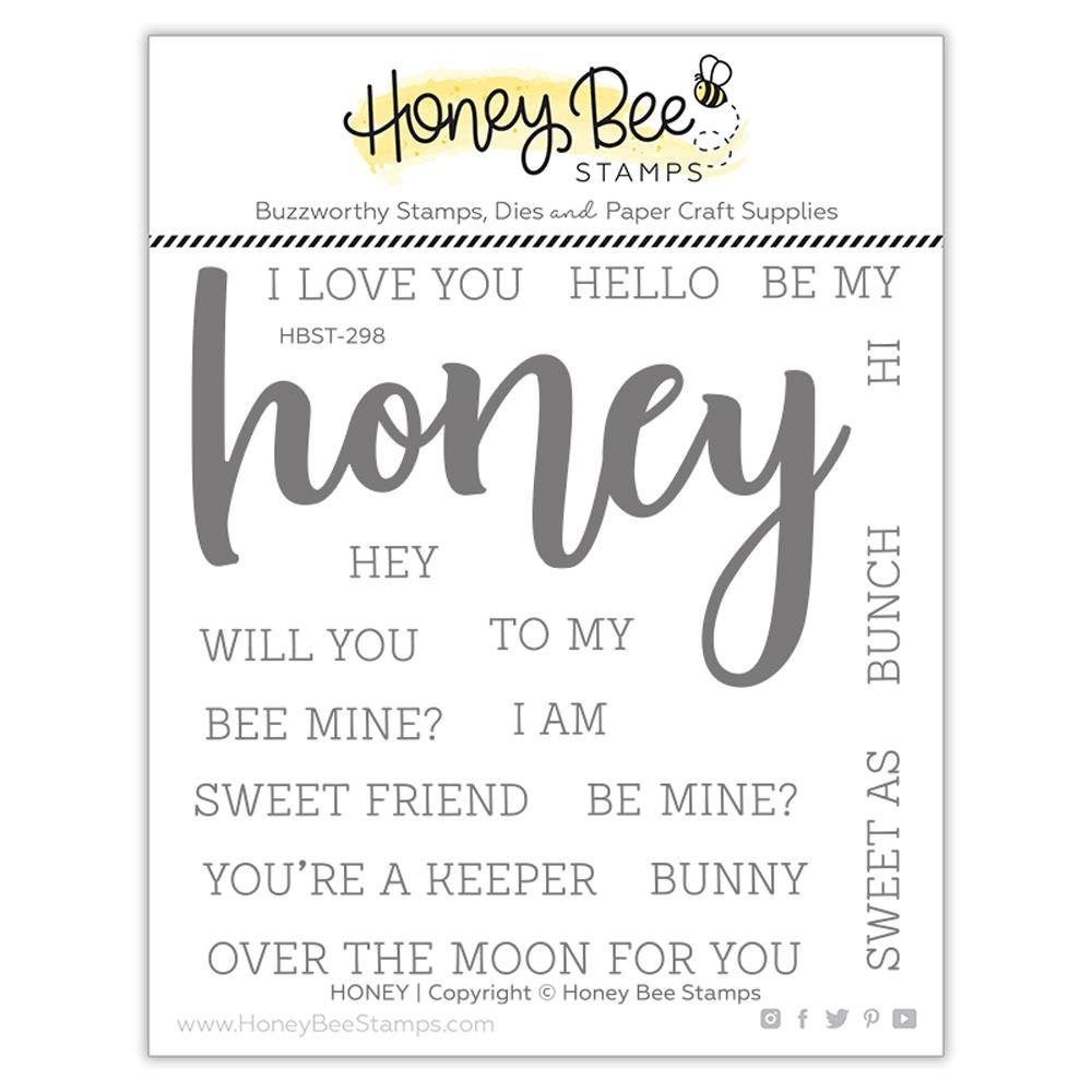 Honey Bee - Clear Stamps - Honey