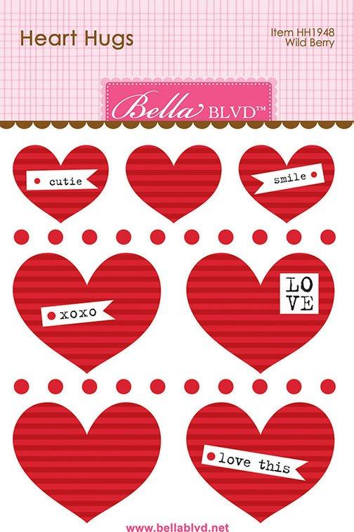 ^Bella Blvd Heart Hugs - Wild Berry (CLEARANCE)