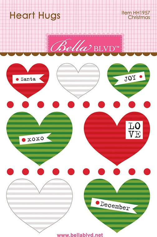 Bella Blvd - Heart Hugs - Christmas