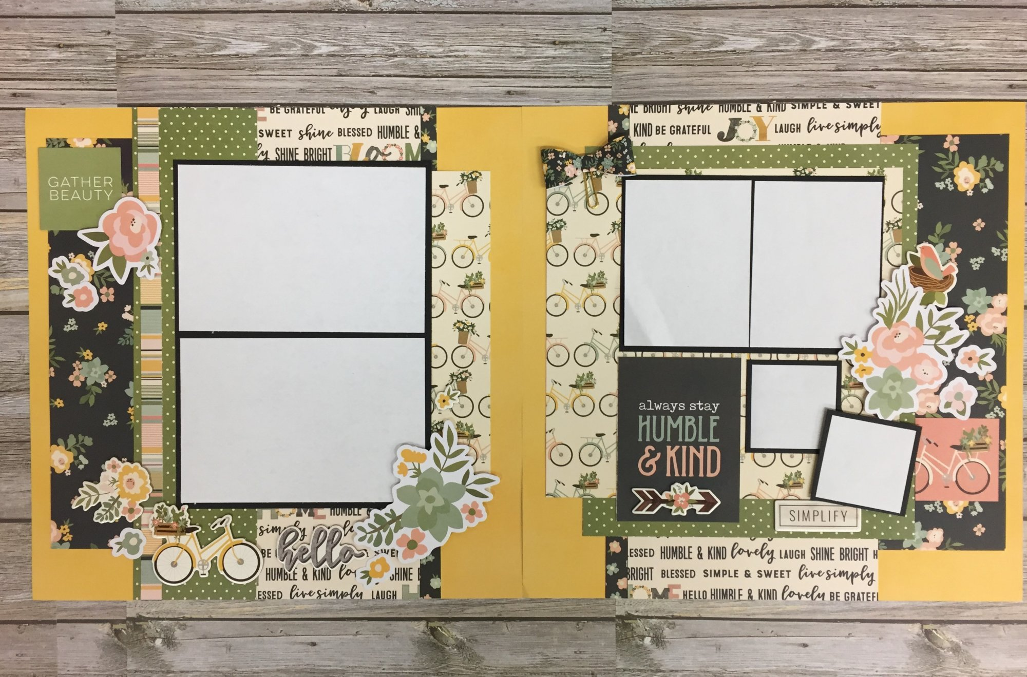 Humble and Kind Layout Kit by Simple Stories