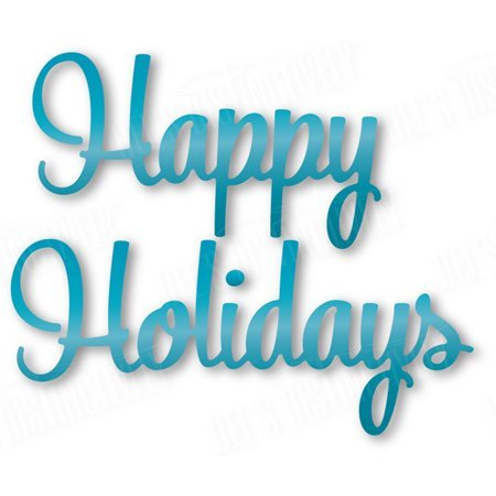 Dee's Distinctively - Die - Happy Holidays