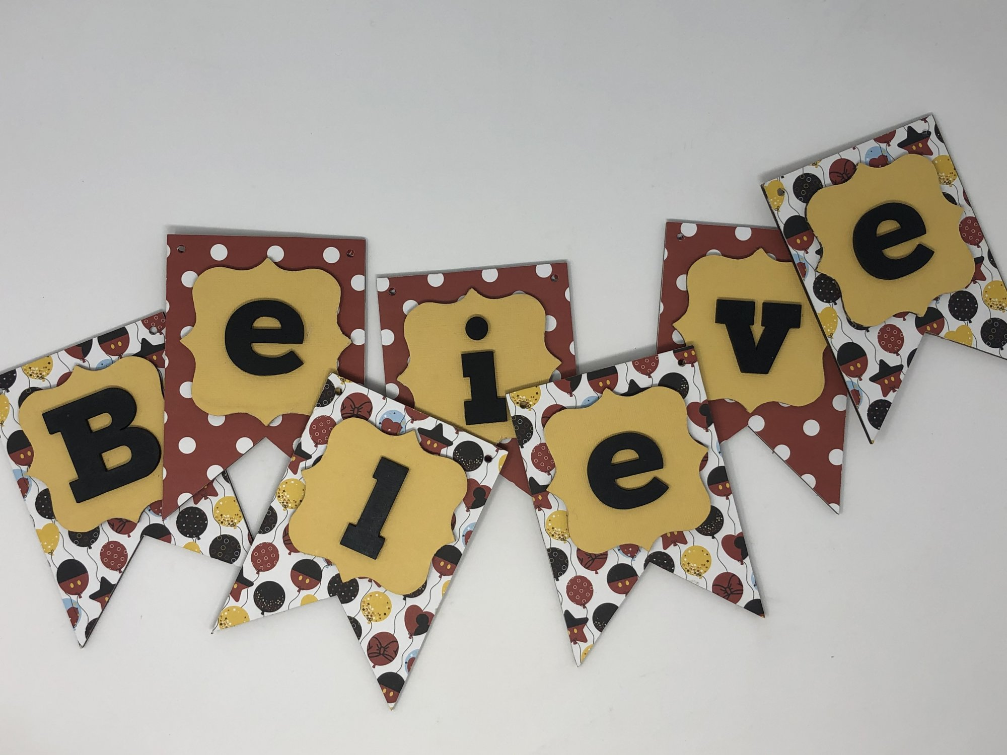 Believe In Magic Banner Project Kit (Foundations Decor)