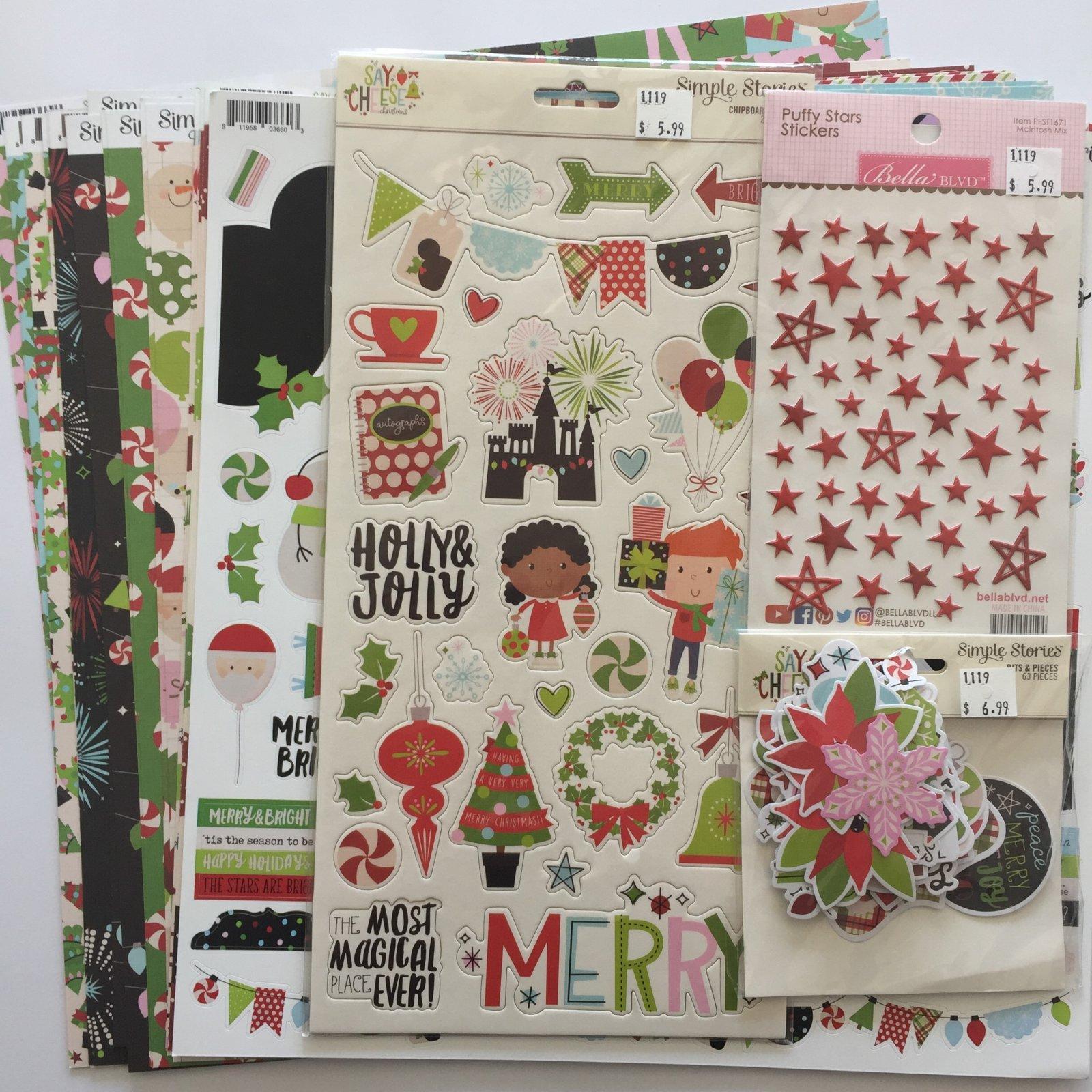 ^Say Cheese Christmas Mega Bundle (Simple Stories)