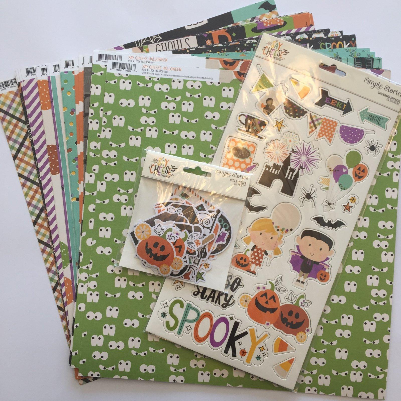 ^Say Cheese Halloween Mega Bundle (Simple Stories)