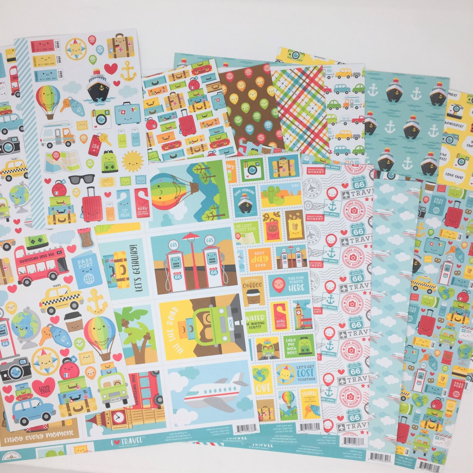 ^Doodlebug I Heart Travel Collection Bundle