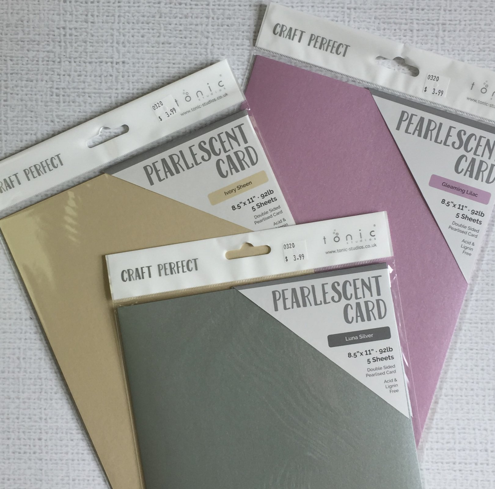 ^Pearlescent Card Bundle 2 (Craft Perfect)