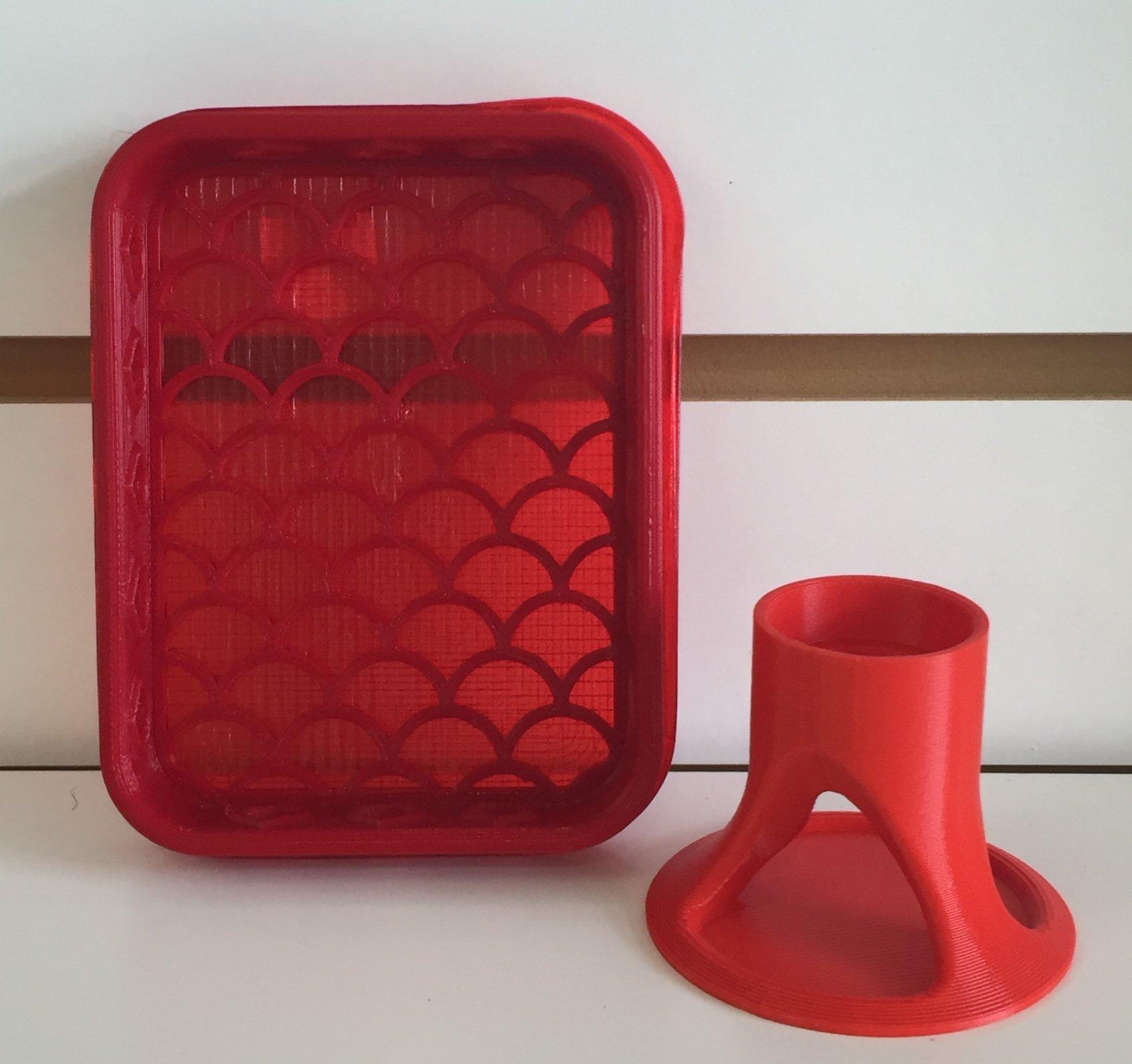 ^Shammy Case & Glue Holder Bundle - Red