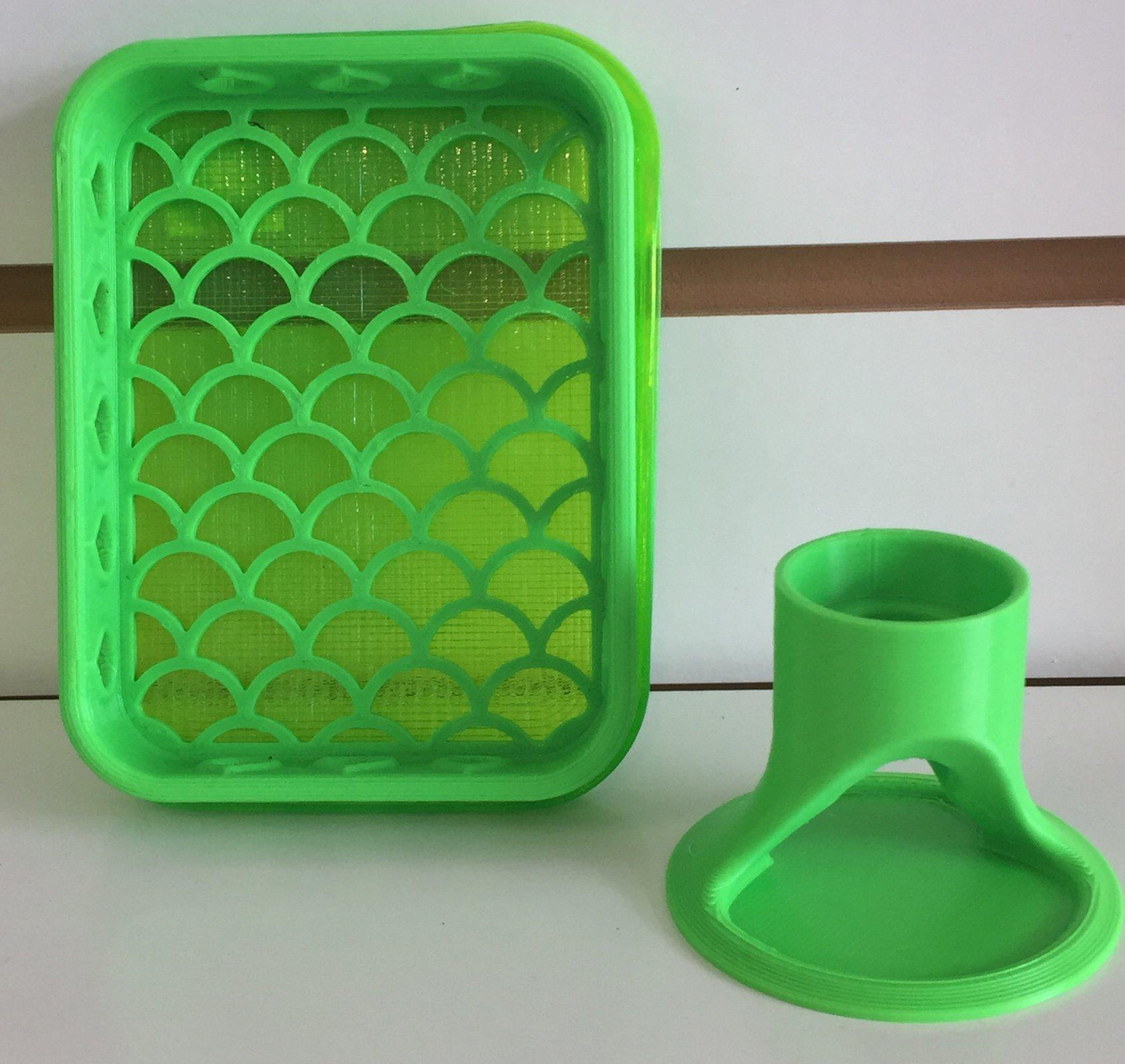 ^Shammy Case & Glue Holder Bundle - Green