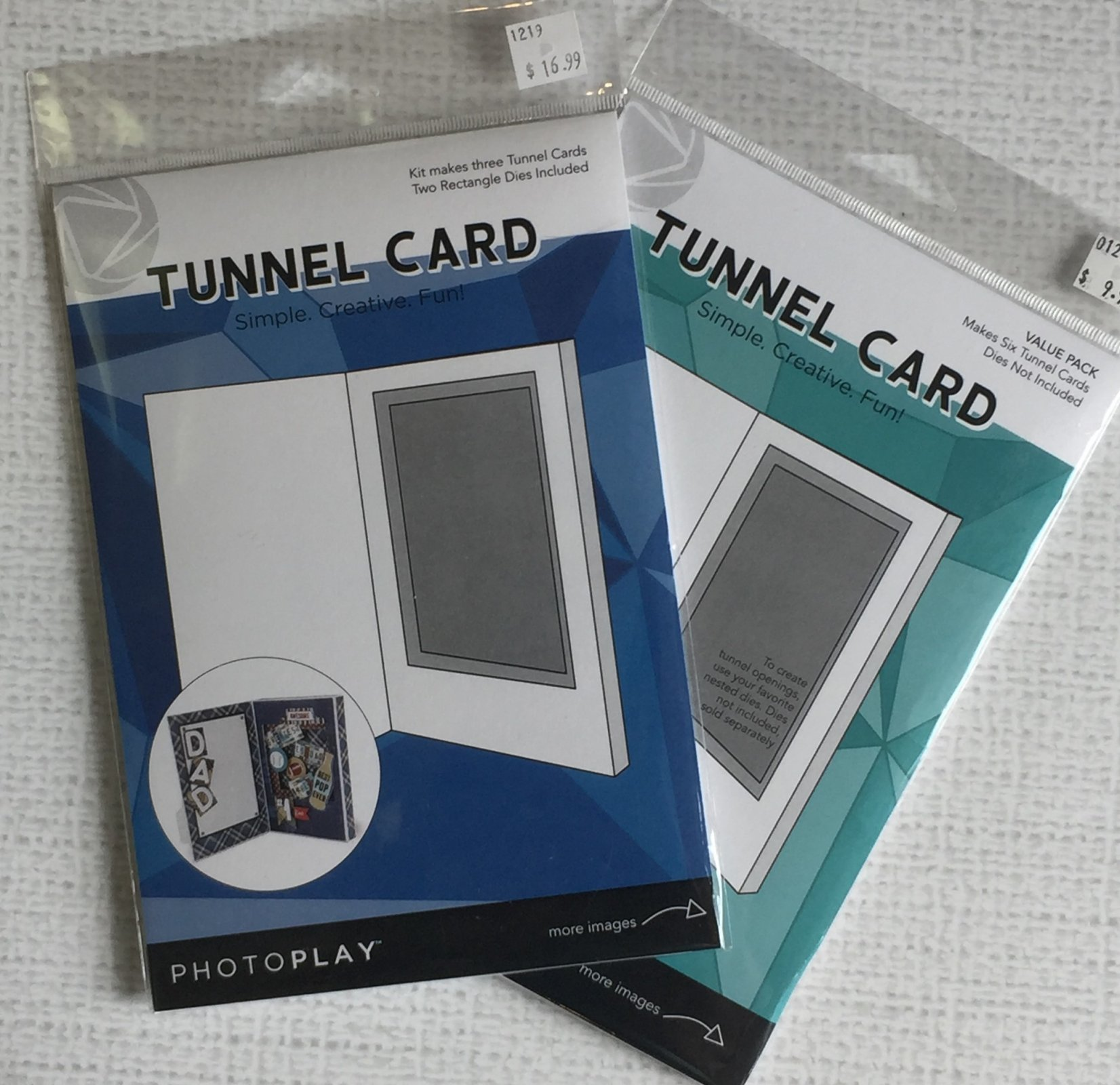 ^Rectangle Tunnel Card Starter Bundle (PhotoPlay)