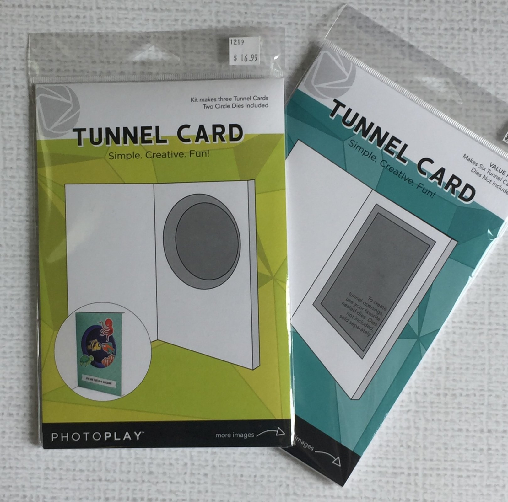 ^Circle Tunnel Card Starter Bundle (PhotoPlay)