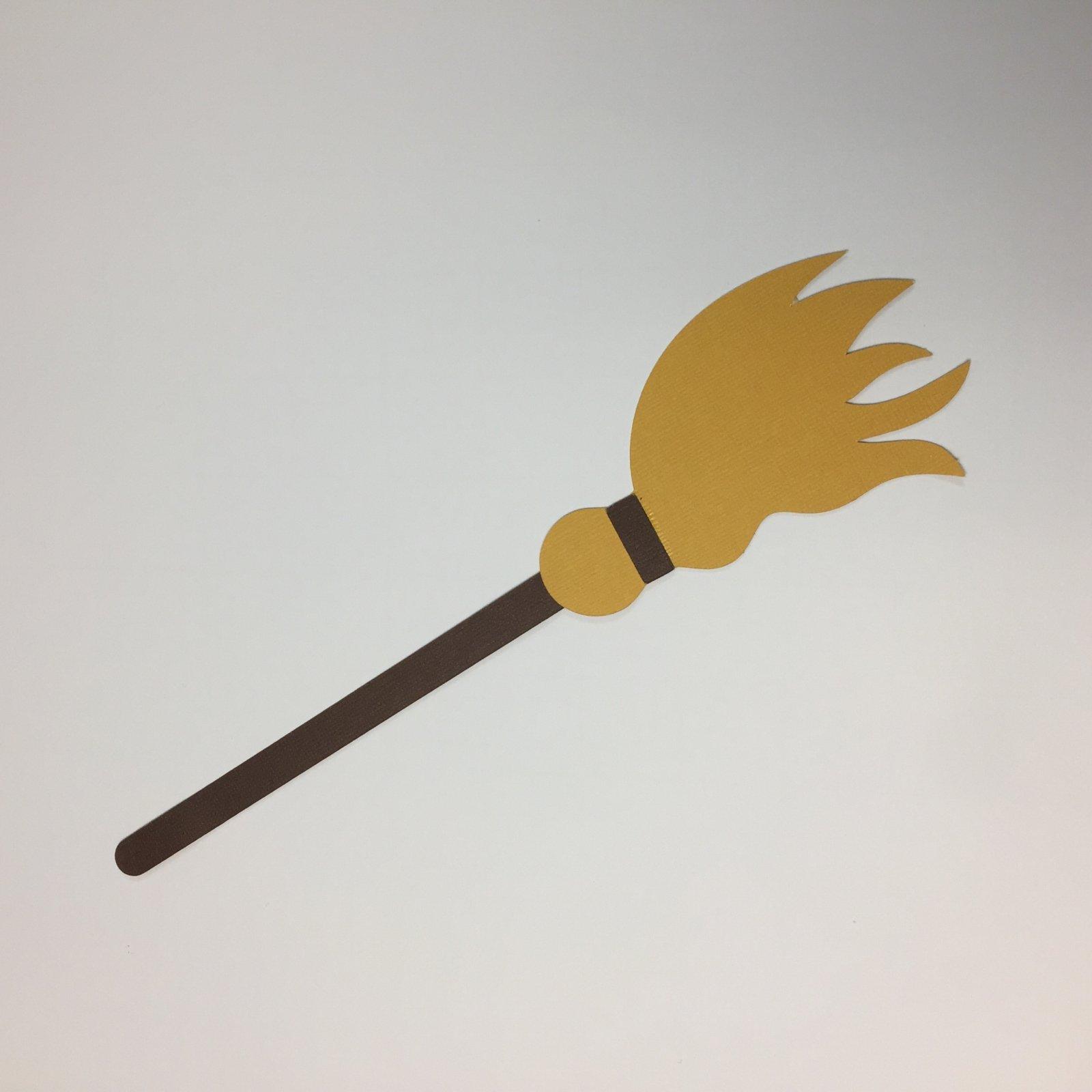 ^Broomstick Die Cut, Large (CLEARANCE)