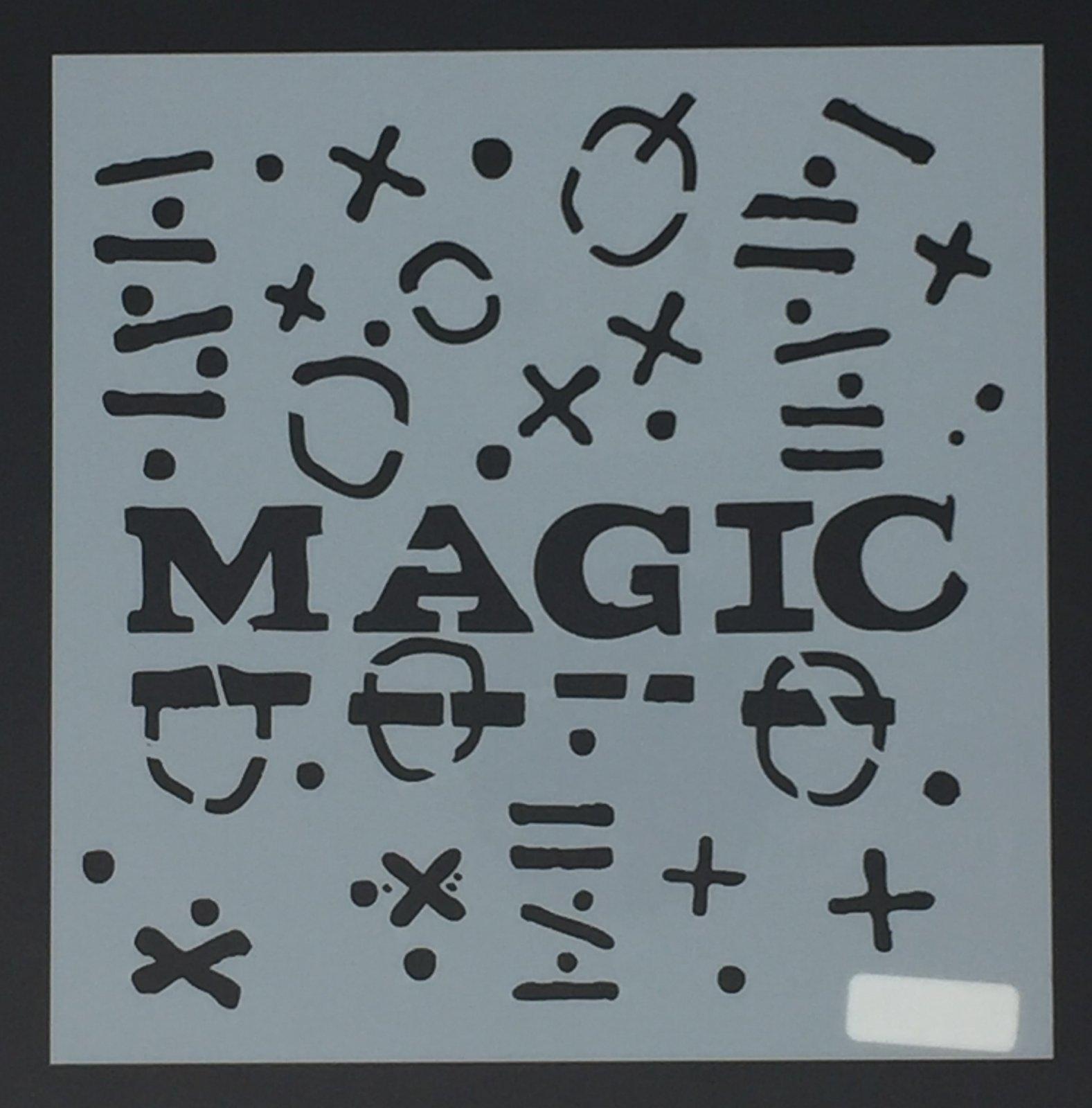 Aladine - Stencil - Magic by Seth Apter