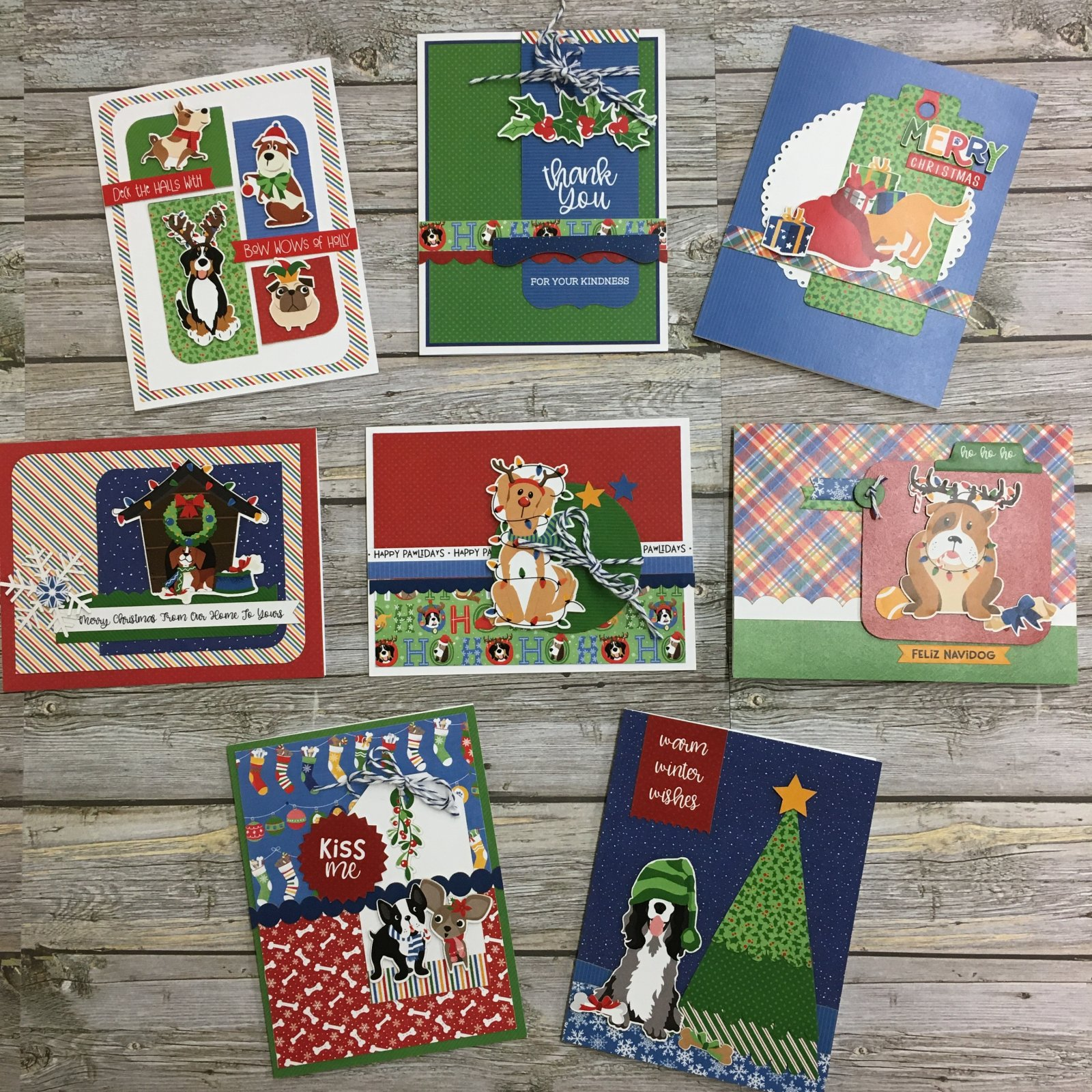 The Muttcracker Holiday Card Kit by ColorPlay