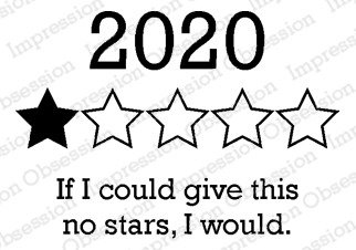 ^io Cling Stamps - No Stars