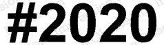 ^io Cling Stamps - #2020