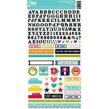 Jillibean Soup - Rainbow Roux Coordinating Label Stickers
