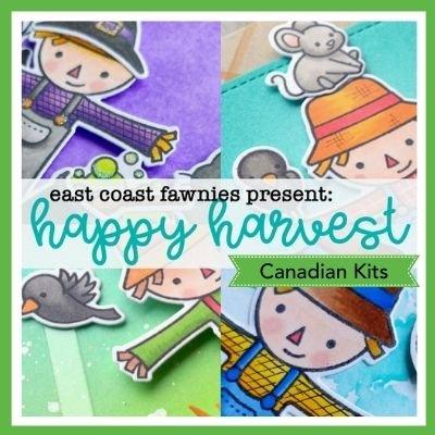 CLASS KIT:  Happy Harvest Cards with Jenn Shurkus and Chari Moss