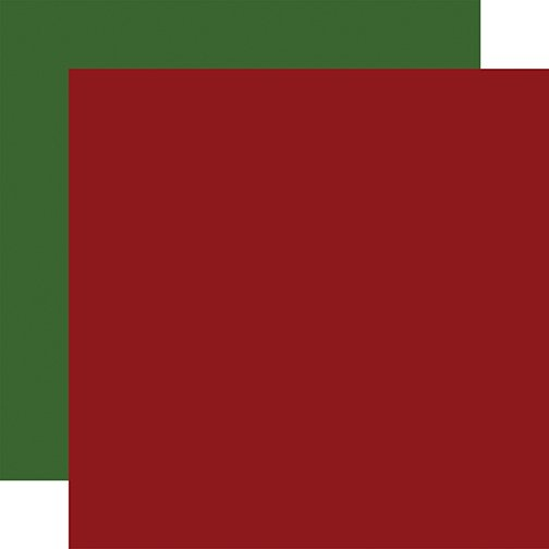 Echo Park - Jingle All The Way - DK RED-GREEN - 12x12 Double-Sided Paper