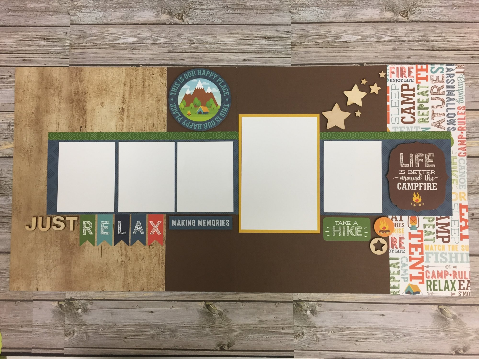 Just Relax Layout Kit