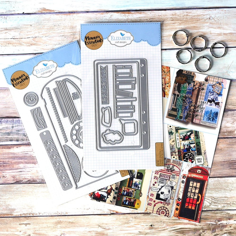 Elizabeth Craft Phone Booth Special Kit - Limited Edition