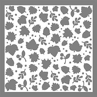 LDRS - Leaves Stencil