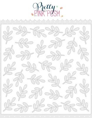 Pretty Pink Posh - Stencils - Leaves