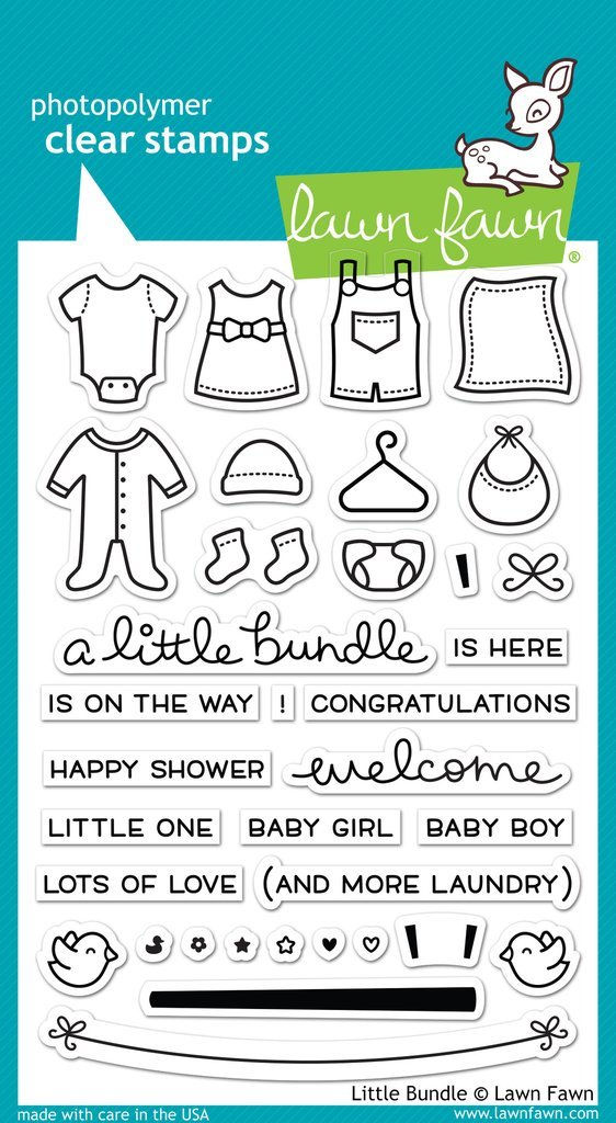 Lawn Fawn - Clear Stamp - Little Bundle