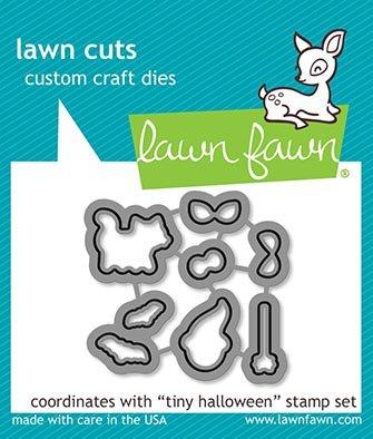 Lawn Fawn Lawn Cuts - Tiny Halloween Coordinating Dies