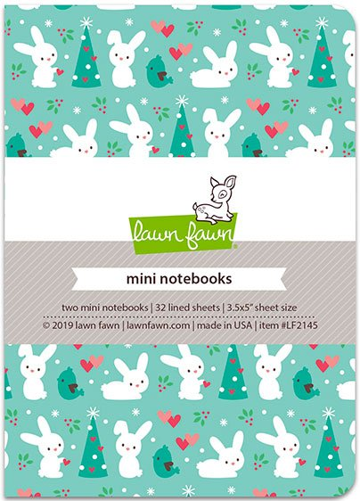 Lawn Fawn - Mini Notebooks - Snow Day Remix