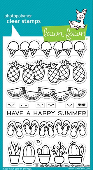 Lawn Fawn Stamps - Simply Celebrate Summer